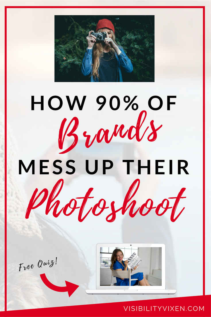 There are some key elements that are essential for your photo-shoot...let me enlighten you, doll!