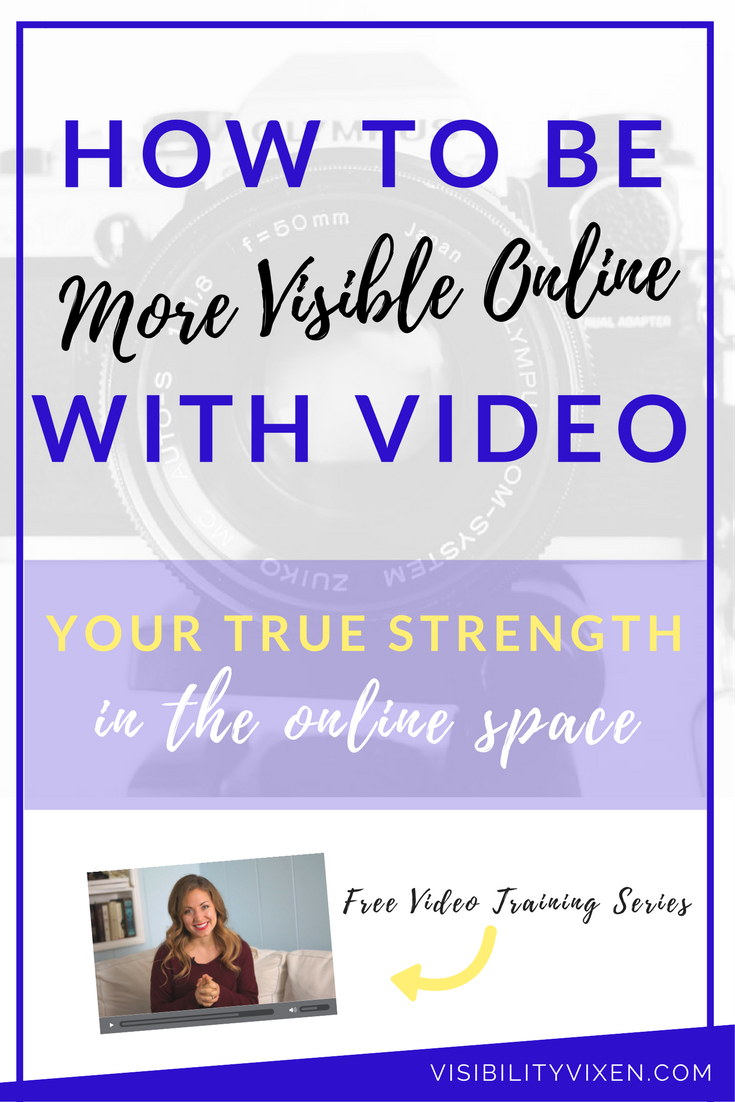 video online visibility online business entrepreneur