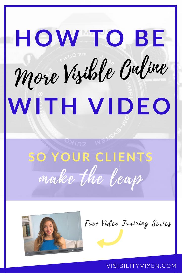 video visibility online business entrepreneur