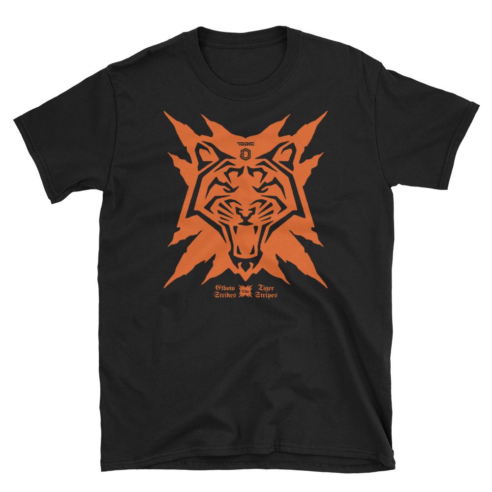 074c9714b4 Off Topic: Elbow Strikes Like Tiger Stripes Unisex T-Shirt — Ognjen Topic