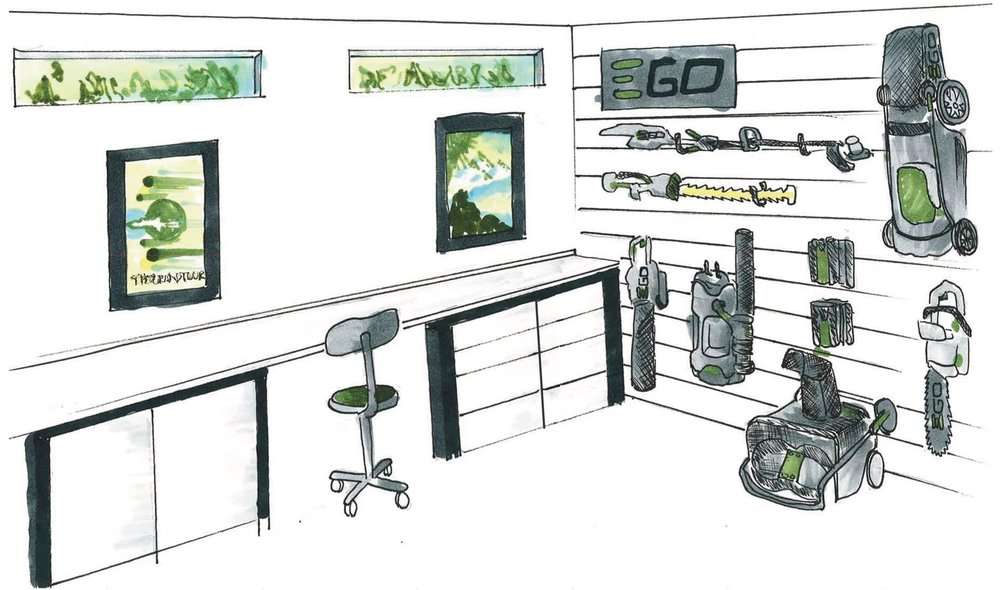 EGO Prototype Garage