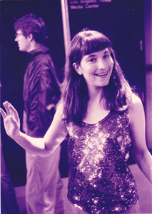 948th Night: Lisa Anne Auerbach on the occasion of her graduate show reception, ACCD, 28 February 1994.