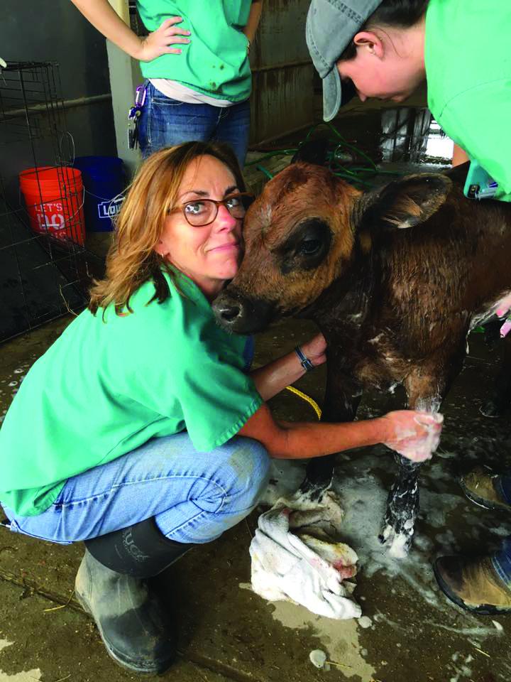 Nancy Welborn with Poncho.jpg