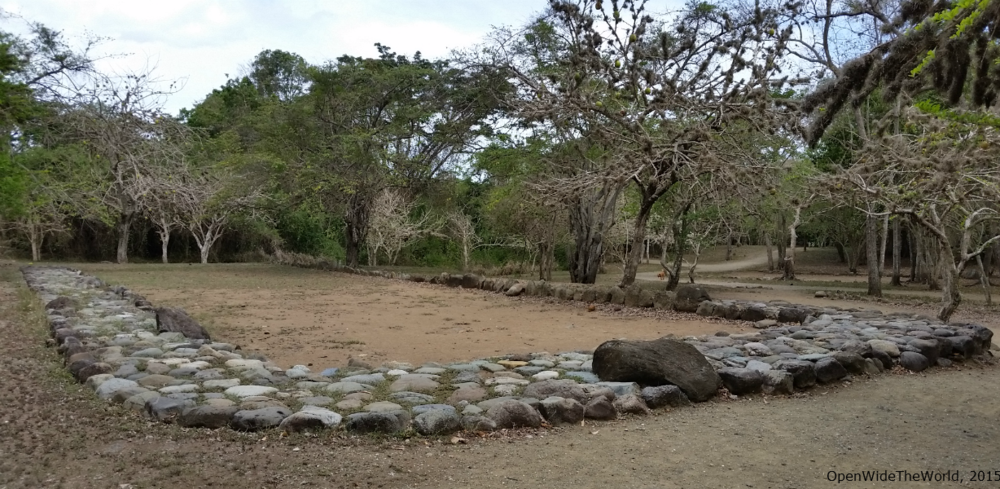 unearthed Taíno batey (Tibes, Puerto Rico)