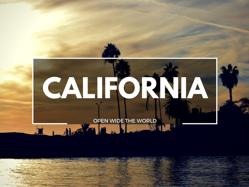 California Open Wide the World