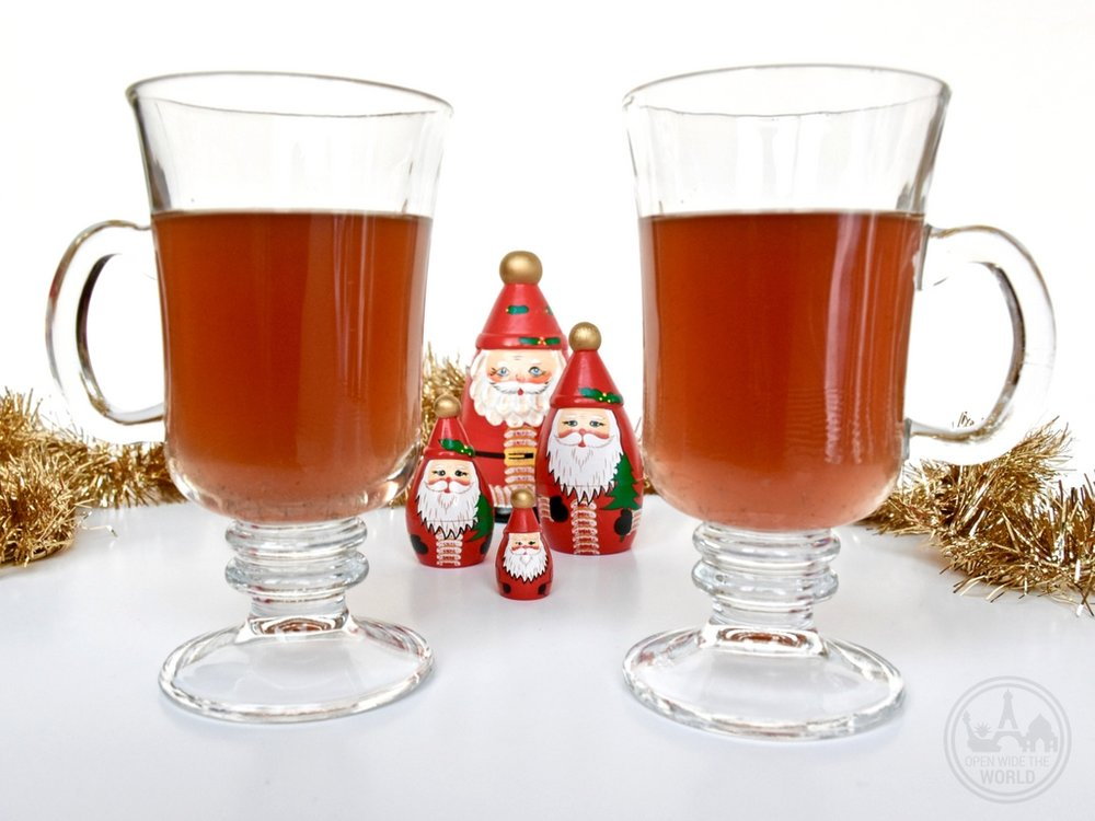 Sbiten from Russia. If you find yourself at home this holiday season, why not bring the festive travel spirit to you! (And learn a little history while you're at it!) We have compiled recipes of five  more  fabulous holiday cocktails from around the world. So grab a shaker and join the party!