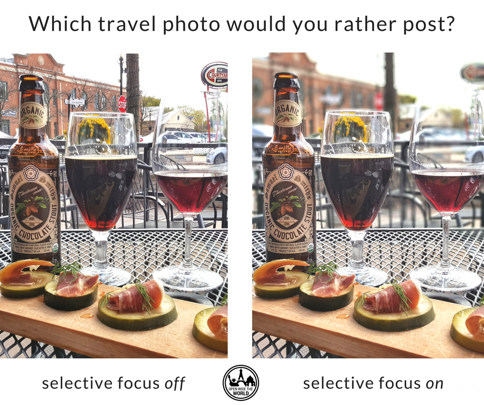 We had lunch on a patio surrounded by visual distractions; the perfect time for selective focus! (at   Wine & Cheese by TCC  ,  just off Route 66 in Plainfield, IL)