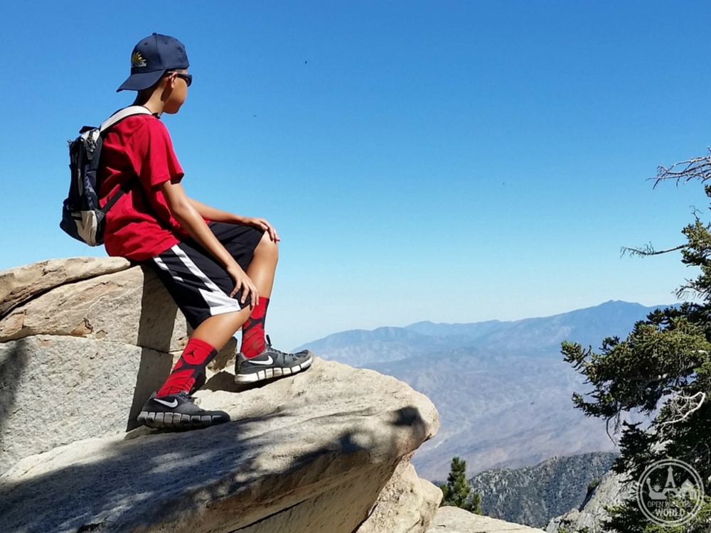 Millions of years of exposure has weathered the granite rock atop the summits of Mount San Jacinto State Park. Today these formations are fun for kids to scramble, as well as offering unique picnic spots and vantage points.