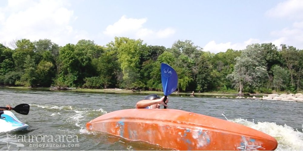 Capsizing can take a lot out of you, physically and mentally. But like many challenges, it leads to progress! (Photo: James Cardis, Aurora Area CVB)