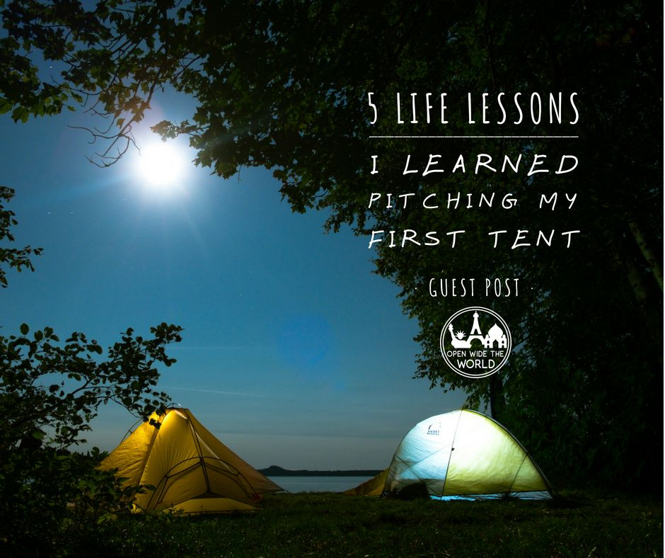 In this guest post, hear from 16-year old Dylan about valuable life lessons that come from a major camping milestone: pitching a tent for the first time!