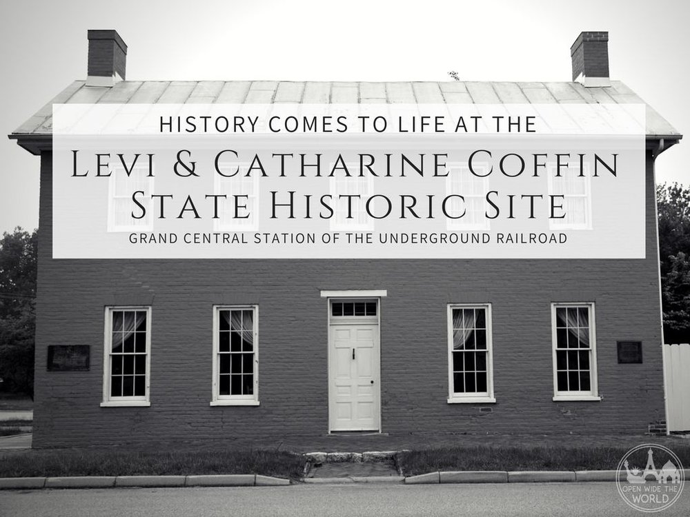 The Levi and Catharine Coffin House State Historic Site and National Historic Landmark in Fountain City, Indiana has made it to our short list of all-time favorite travel learning destinations. Come see why this site has been named one of the top 25 historic sites in the nation.
