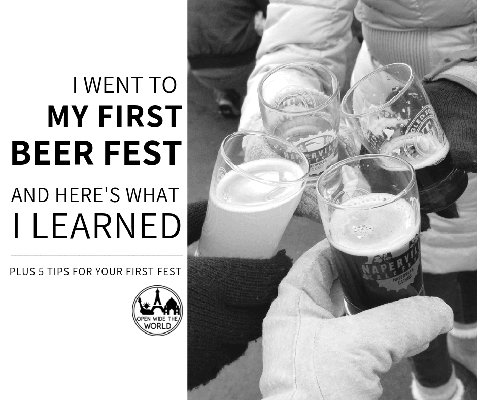Beer fests are a lot of fun! But they can easily become a missed opportunity -or worse- without a little forethought. Check out what we learned and be ready to make the most of your next beer fest! #beerfest #openwidetheworld