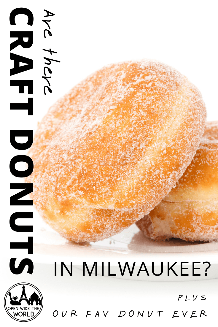 DKY? Milwaukee ranks 38th out of 50 major U.S. cities for donut availability. Check out what we found when we searched for the near-impossible in MKE! #donuts #milwaukee #openwidetheworld