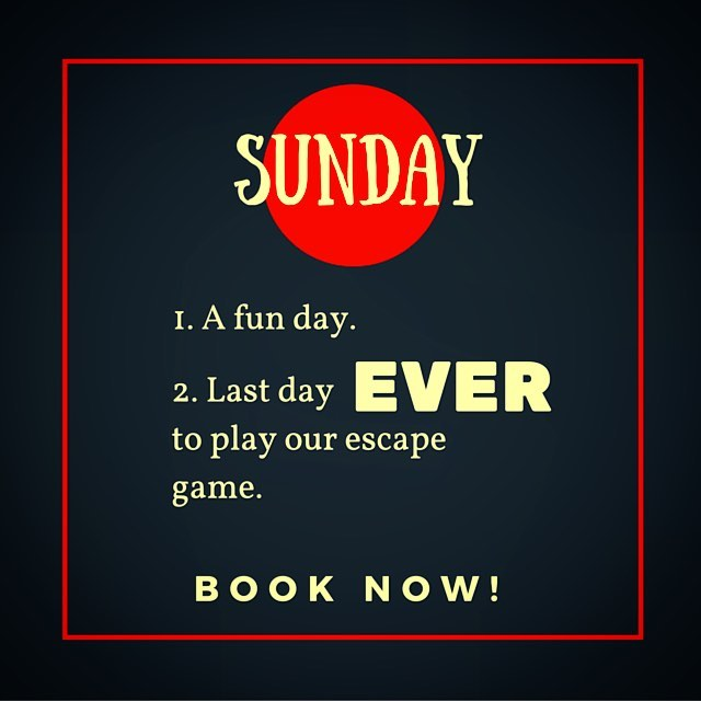 """It's July 10th and we're closing """"The Psychologist's Wife"""". It's your absolute last chance to play! Grab some brunch downtown and come pay the evil doc a visit before he skips town 4 good. #presstheredbutton #escaperoom #escapetheroom #escapegames #escaperoomtoronto #escapegame #lockedroom #mysteryrooms #exitgames #realescapegame #puzzleroom #adventurerooms #toronto #torontofun #the6ix #kingwest"""