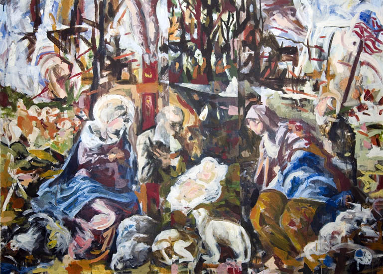Nativity (Homage to Tintoretto)