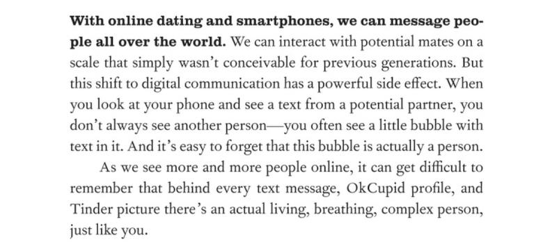 """Taken from Aziz Ansari & Eric Klinenberg's """"   Modern Romance   """", Penguin Publishing 2015"""