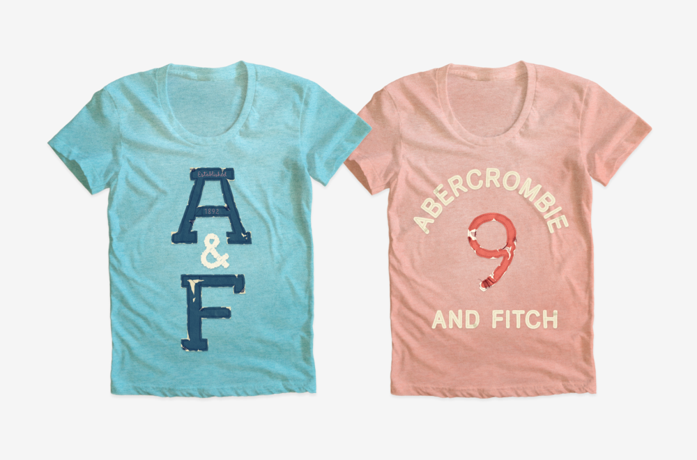 ABERCROMBIE & FITCH / Womens t-shirt graphics