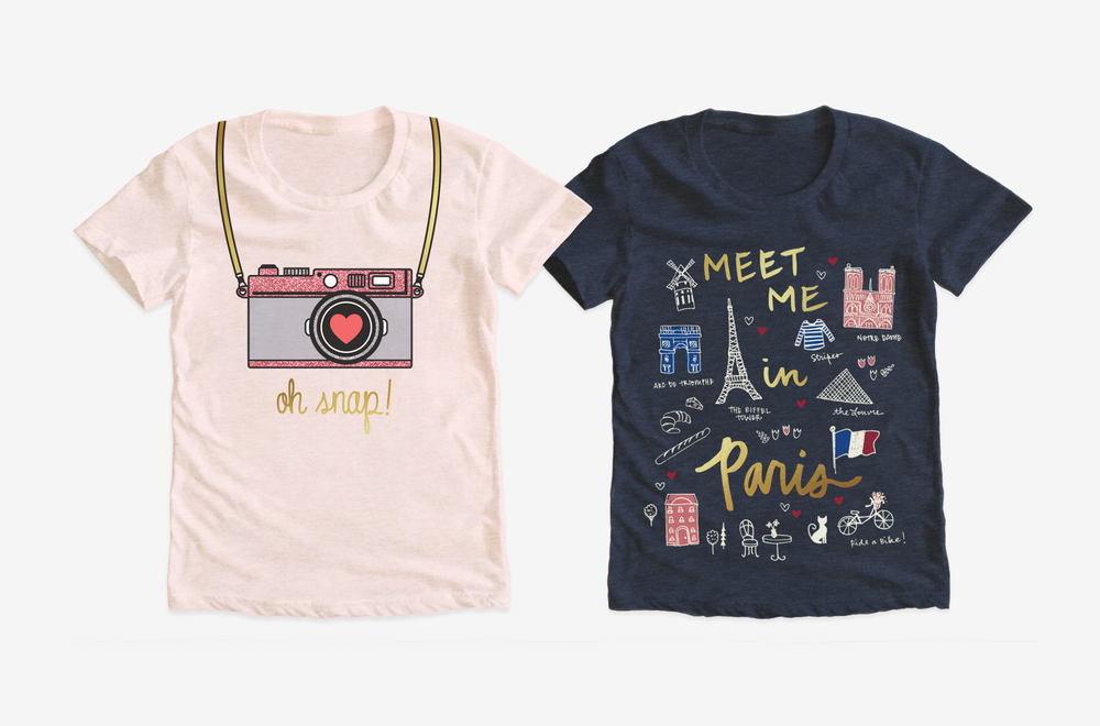 OSHKOSH B'GOSH / Girls t-shirt graphics