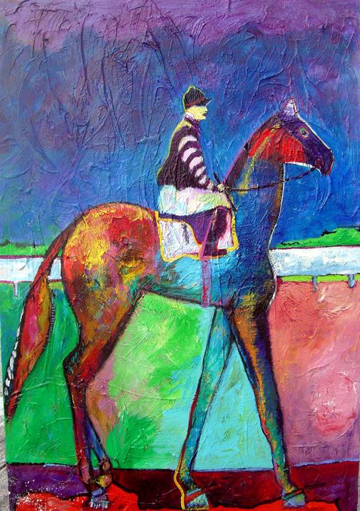 f Derby Day II Horse.jpg