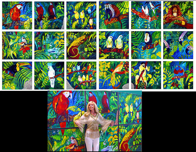 parrot-jungle-tiled-poster-and artist.jpg