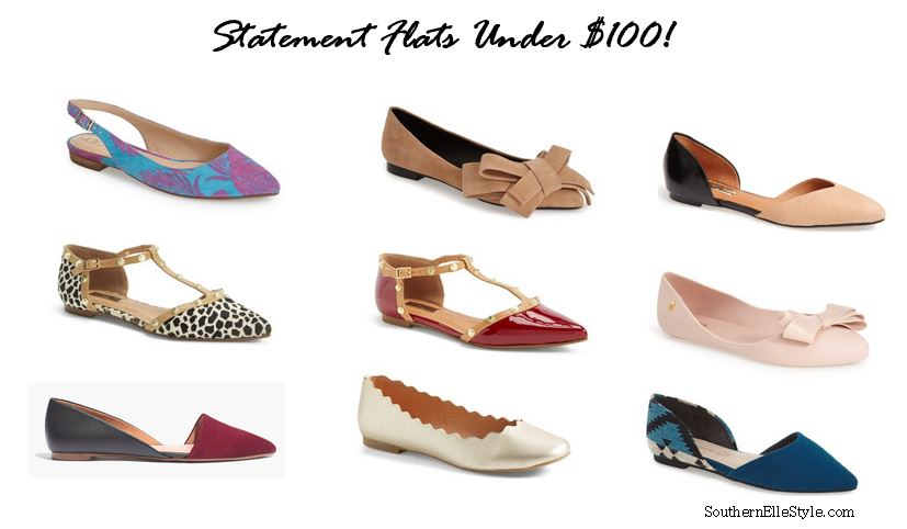 Statement Flats | Southern Elle Style | Dallas Fashion Blogger