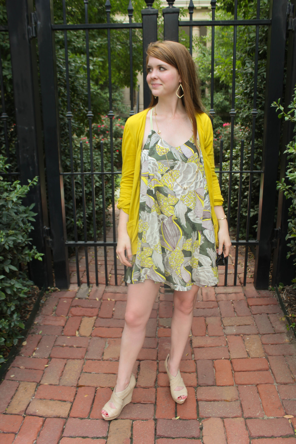 loveriche floral dress | southern elle style | dallas fashion blogger