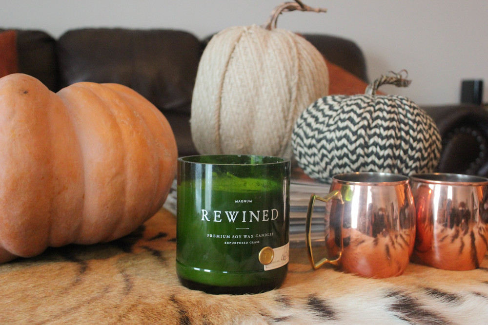 The perfect fall scent, Rewined Candles Spiked Cider Magnum