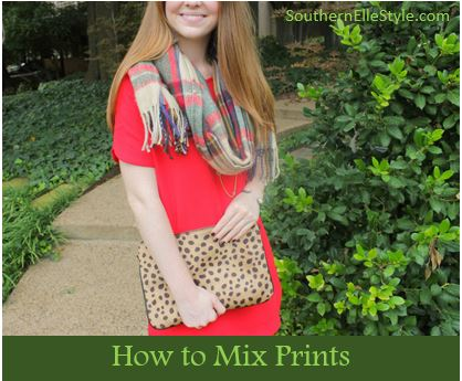how to mix prints | southern elle style | dallas fashion blogger