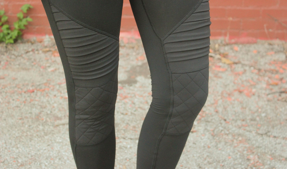 harvist active moto legging, corepower yoga