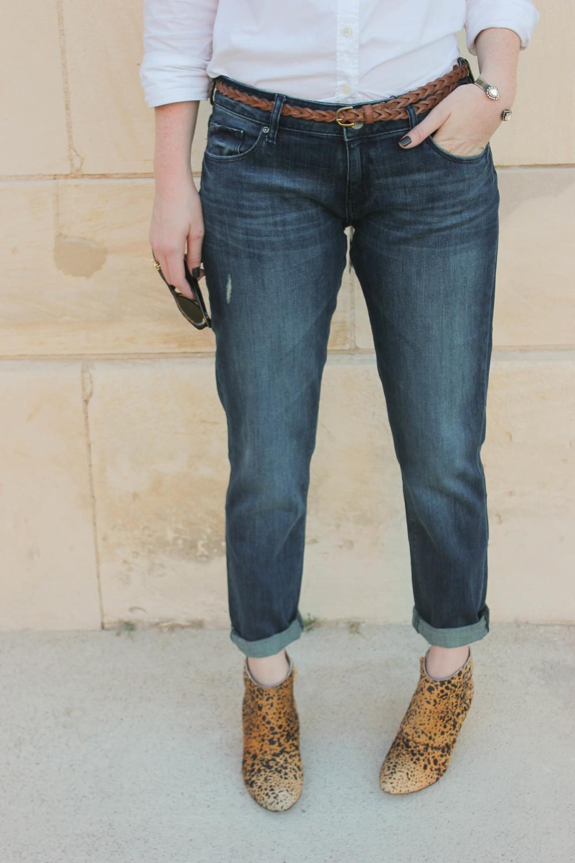 DL Riley Boyfriend Jeans in Nassau, Matisse Nugent Booties