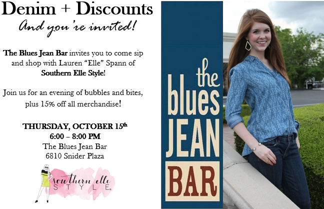 The Blues Jean Bar + Southern Elle Style