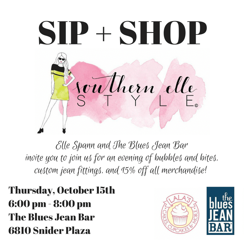 the blues jean bar and southern elle style dallas event