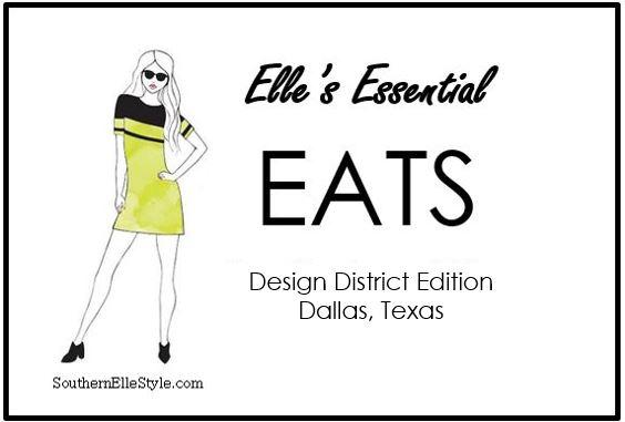 where to eat in the Dallas Design District, Southern Elle Stye, Dallas Fashion Blogger