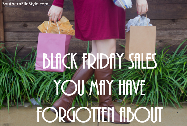 black friday and cyber monday 2015 sales, southern elle style