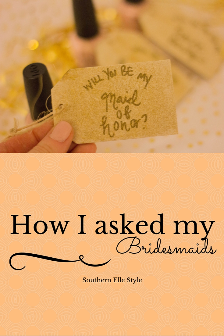 how i asked my bridesmaids and house party, wedding party, dallas wedding, diy