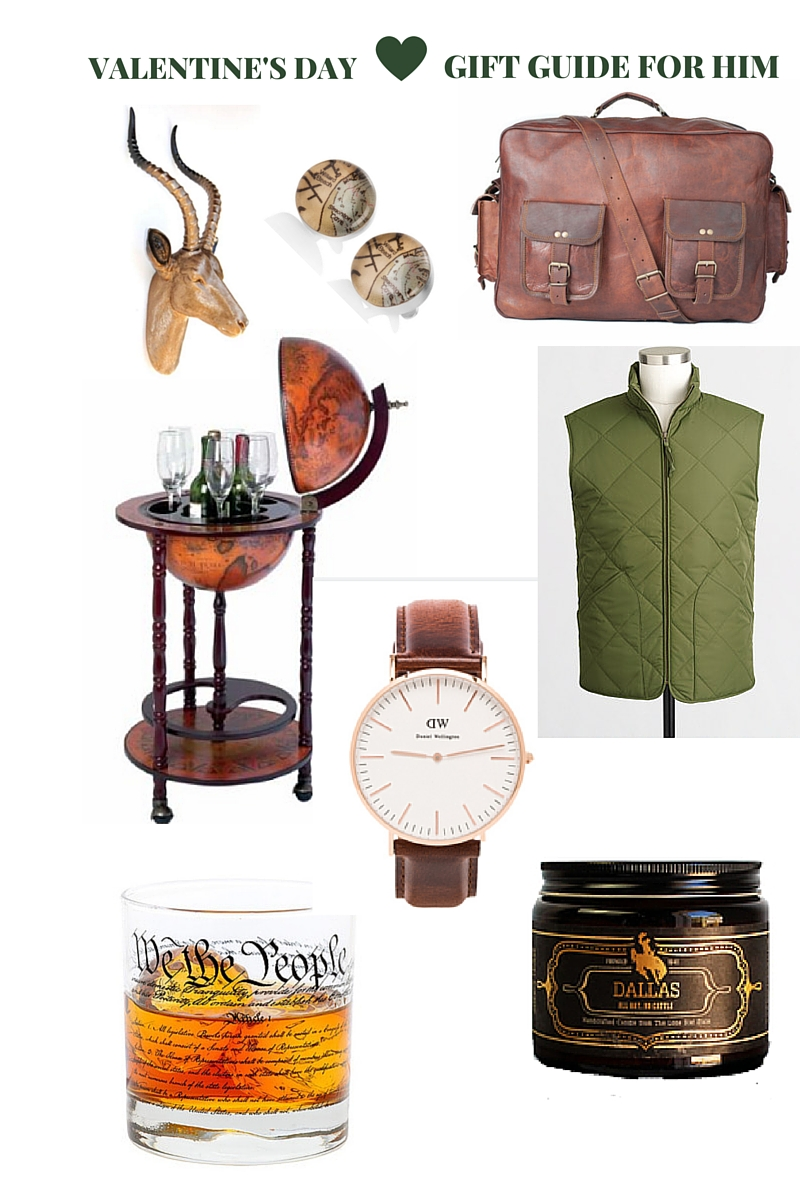 valentine's day gift guide for him, the uncommon green, v-day guide