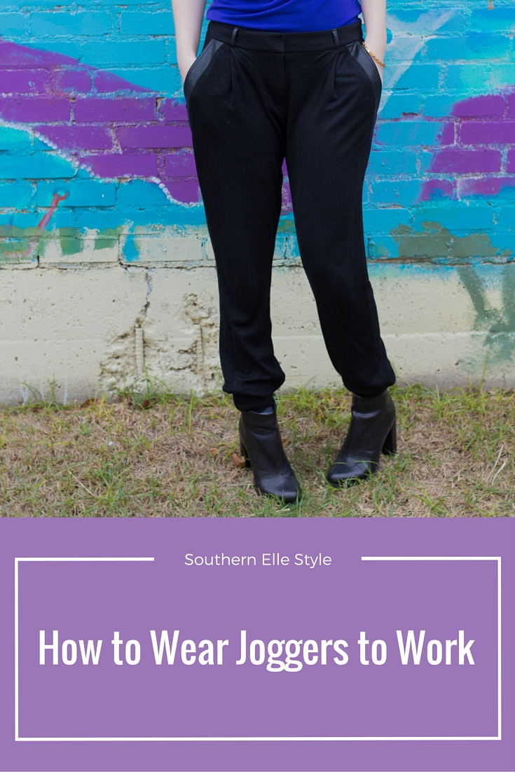 how to wear joggers to work, southern elle style, frye boots