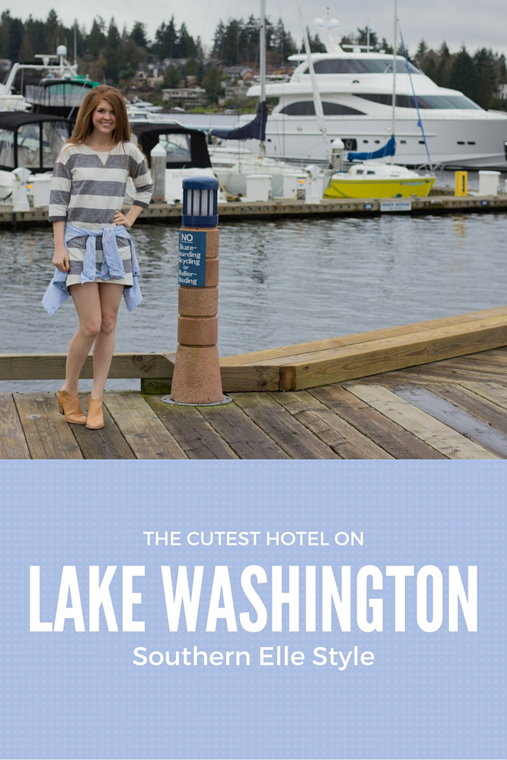 the cutest hotel on lake washington, seattle, kirkland, washington, boutique hotel, yacht club