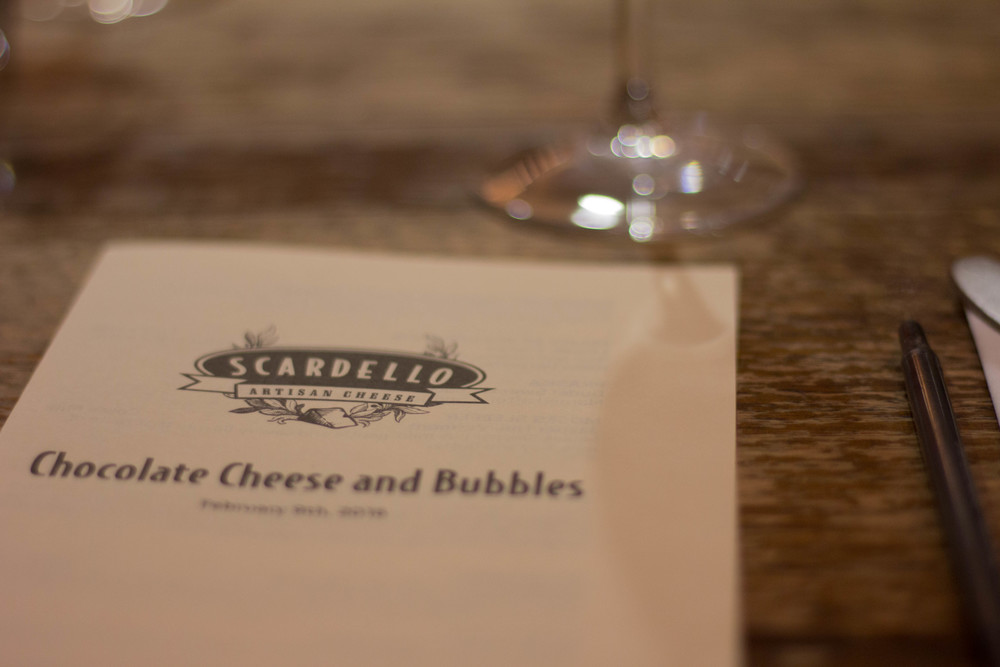bring on the bubble, daydreamer la tee, scardello cheese, dallas, champagne, chocolate, cheese, and bubbles