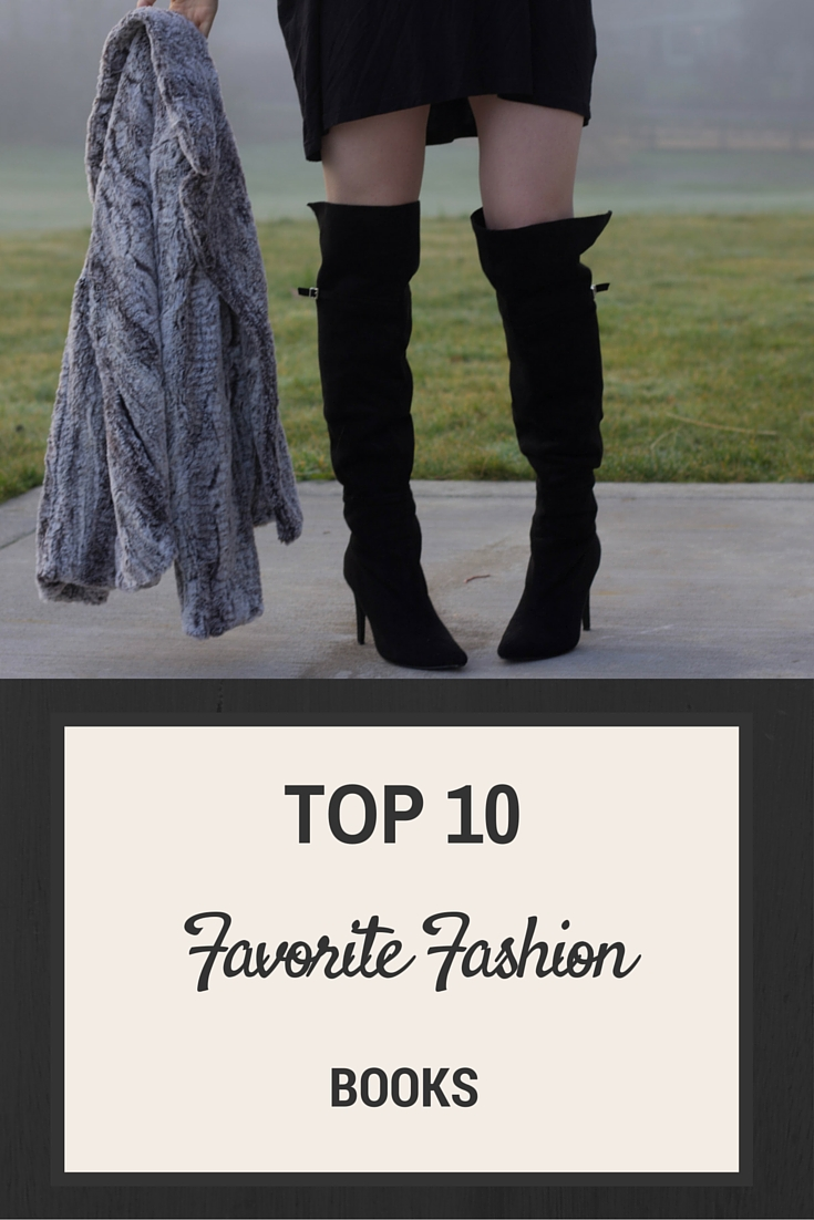 top 10 favorite fashion books, apparel textbooks, fashion reads, southern elle style