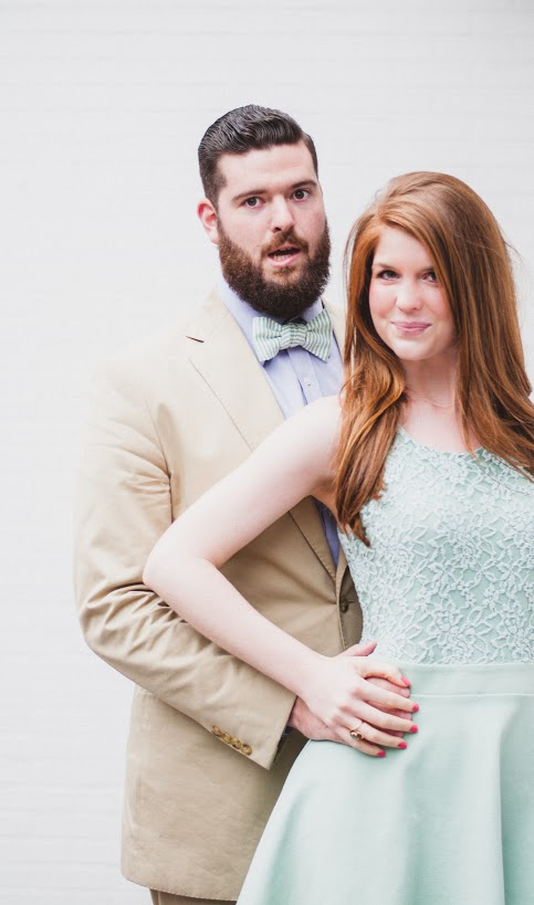 Beards, bow ties, Easter dress, mint, custom, Dallas