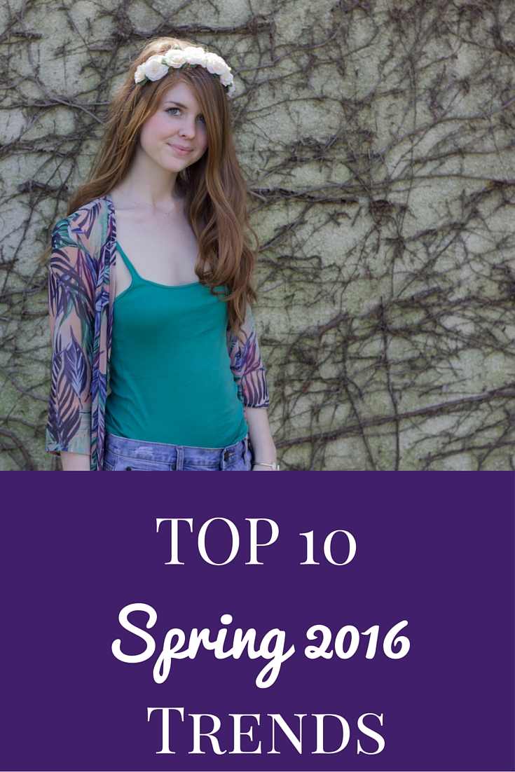 top 10 spring 2016 trends, spring style, floral,flowers, show me your mumu palm funday