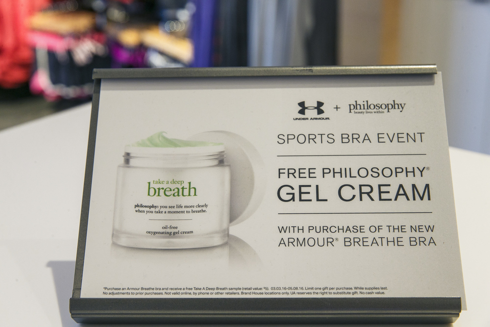 under armour, ua brand house, philosophy, #dontforgettobreathe, misty copeland
