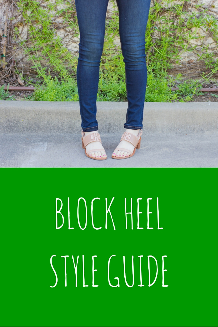 block heel style guide, trends, tory burch lowell sandal, rag and bone denim