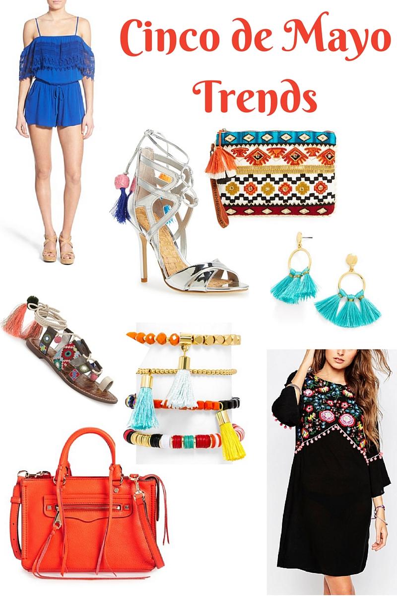 cinco de mayo trends, nordstrom, asos, tassels. rebecca minkoff, tassel clutch, bracelets