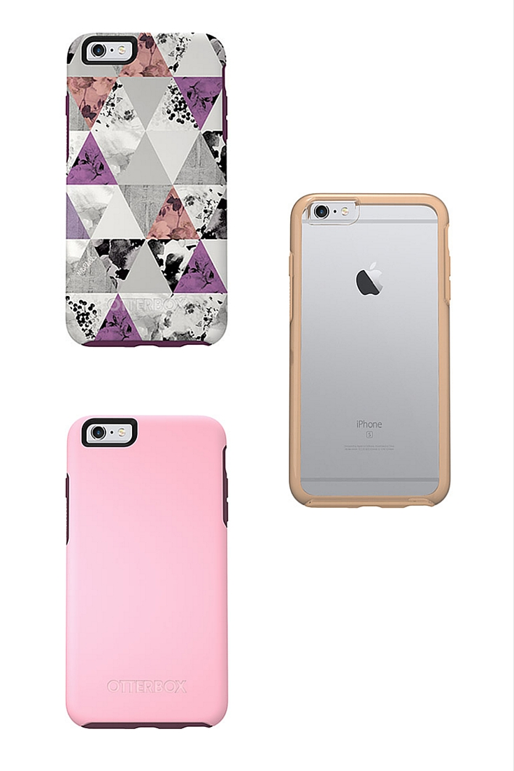 otterbox, symmetry case, clear phone case, iphone 6s plus