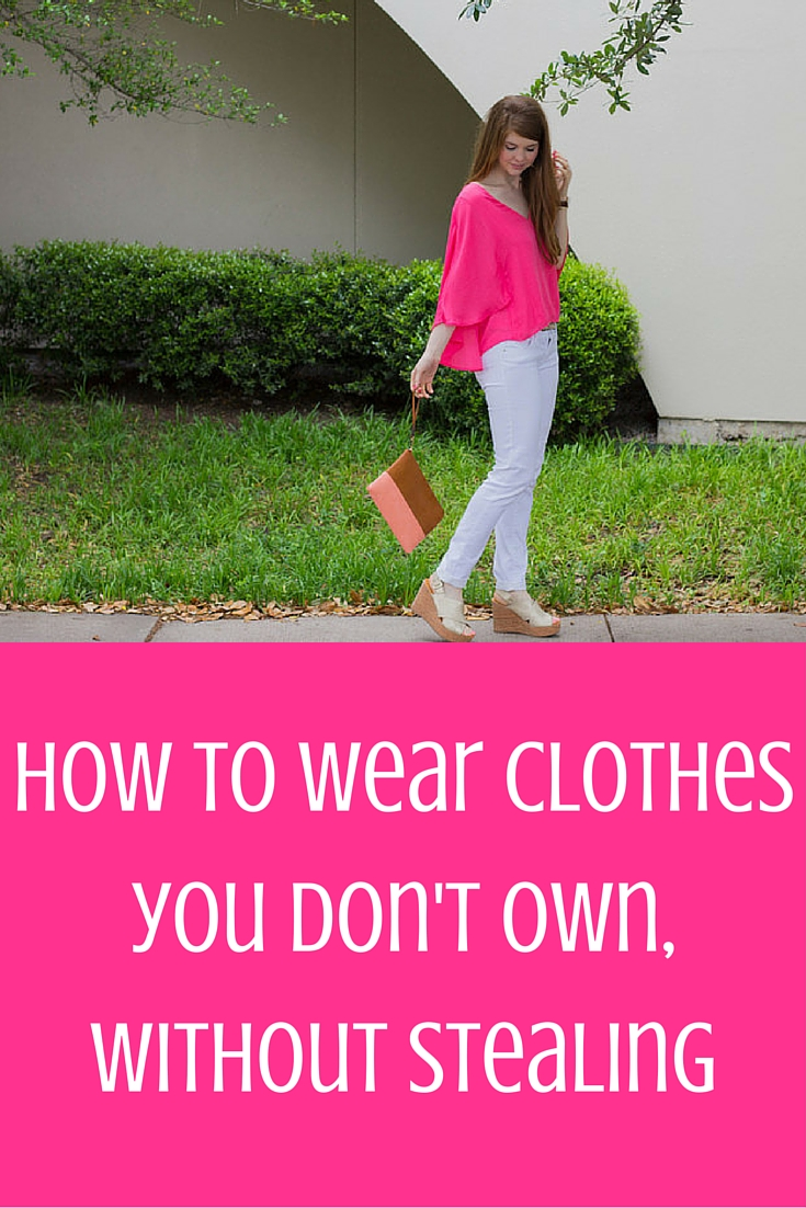 how to wear clothes you don't own, without stealing, le tote, cupcakes and cashmere, trunk club, stitch fix, bc cougar wedge