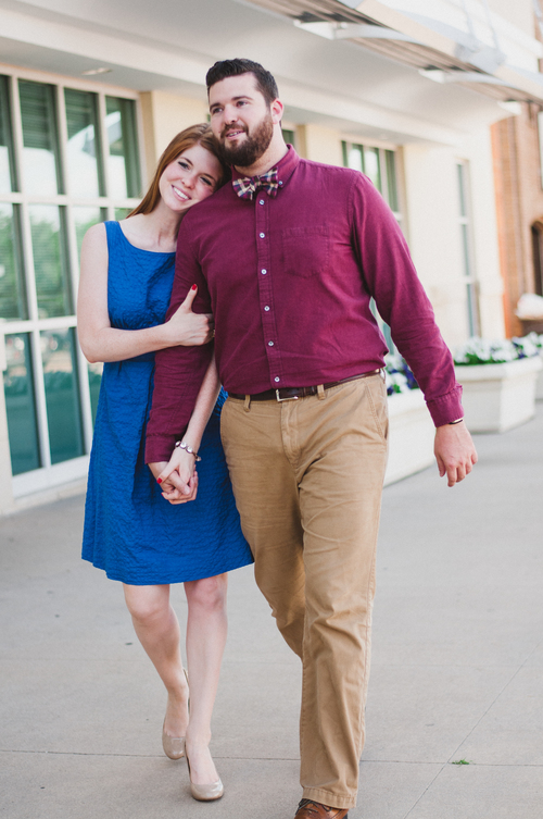 Snider plaza, j crew royal blue dress, couples photography, alchemy pops