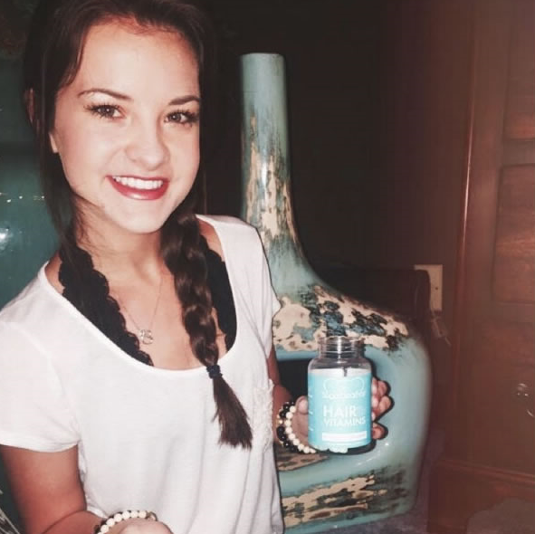 sugarbearhair, fitness, vitamins, hair health, wellness, teddy bear, brooke hyland