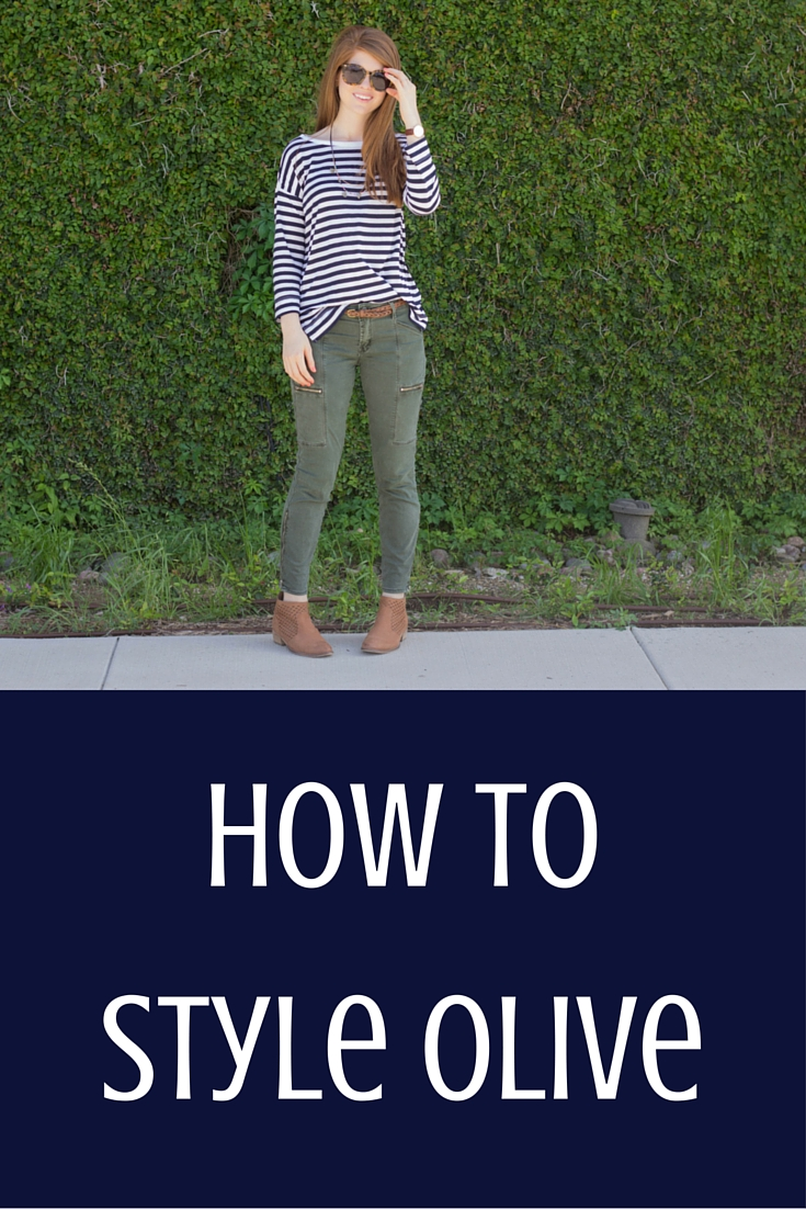 olive and stripes, how to style olive, karen walker sunglasses, loft stripe top, seychelles booties